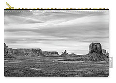 Carry-all Pouch featuring the photograph From Artist's Point by Jon Glaser