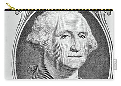 Carry-all Pouch featuring the photograph George Washington by Les Cunliffe
