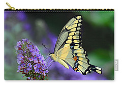 Carry-all Pouch featuring the photograph Giant Swallowtail by Rodney Campbell