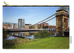 Carry-all Pouch featuring the photograph Glasgow by Jeremy Lavender Photography