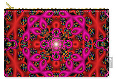 Carry-all Pouch featuring the digital art Glimmer Of Hope by Robert Orinski