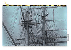 Carry-all Pouch featuring the photograph Gorch Fock ... by Juergen Weiss