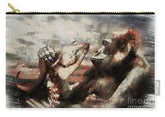 Gorilla  Carry-all Pouch by Christine Sponchia