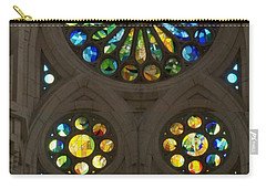 Graphic Art From Photo Library Of Photographic Collection Of Christian Churches Temples Of Place Of  Carry-all Pouch