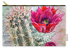 Hedgehog Cactus Carry-all Pouch