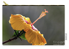 Hibiscus In Bloom Carry-all Pouch by Pravine Chester