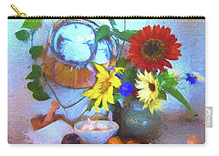 Home Carry-all Pouch by Kathy Bassett