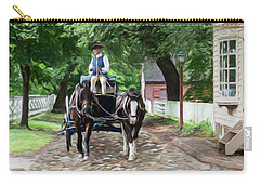 Horse Drawn Wagon Carry-all Pouch