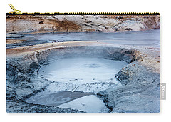 Hverir Steam Vents In Iceland Carry-all Pouch