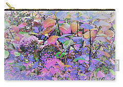 Hydrangea Carry-all Pouch by Ann Johndro-Collins