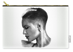 Halsey Drawing By Sofia Furniel Carry-all Pouch by Sofia Furniel