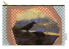 Carry-all Pouch featuring the photograph In The Shadows by Kathie Chicoine