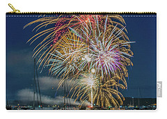 Independence Day Fireworks In Boothbay Harbor Carry-all Pouch
