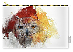 Indian Eagle-owl Carry-all Pouch