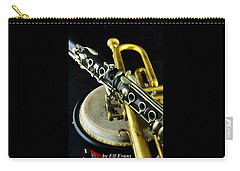 Carry-all Pouch featuring the photograph Jazz by Elf Evans