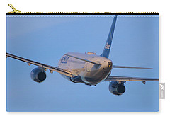 Jet Blue Carry-all Pouch