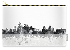 Kansas City Missouri Skyline Carry-all Pouch