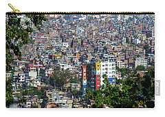 Kathmandu City In Nepal Carry-all Pouch