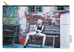 Carry-all Pouch featuring the photograph Kelevra by Traven Milovich