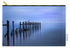 Colorful Overcast At Twilight Carry-all Pouch