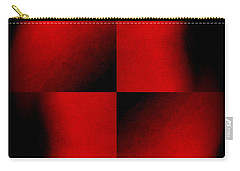 Lady In Red  An Ongoing Series Carry-all Pouch by Jack Dillhunt