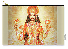 Lakshmi The Goddess Of Fortune And Abundance Carry-all Pouch