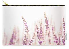 Lavender Flower In The Garden,park,backyard,meadow Blossom In Th Carry-all Pouch by Jingjits Photography