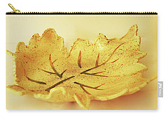 Leaf Plate2 Carry-all Pouch by Itzhak Richter