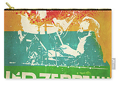 Led Zeppelin  Carry-all Pouch by FHT Designs