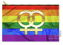 Lesbian Symbols Carry-all Pouch