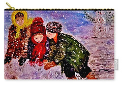 Let It Snow..let It Snow..  Carry-all Pouch