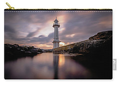 Carry-all Pouch featuring the photograph Lighthouse by Okan YILMAZ