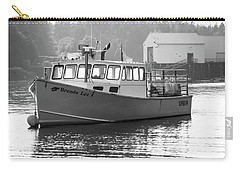 Lobster Boat Carry-all Pouch by Trace Kittrell