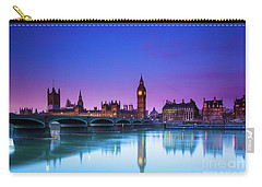 London Big Ben  Carry-all Pouch by Mariusz Czajkowski