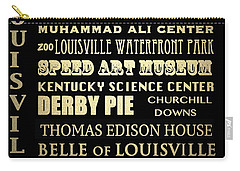 Louisville Famous Landmarks Carry-all Pouch