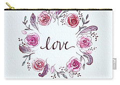 Love Carry-all Pouch by Elizabeth Robinette Tyndall