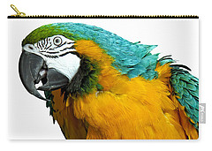 Macaw Bird Carry-all Pouch by Gunnar Orn Arnason