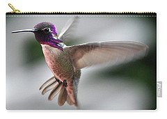 Male Anna's In Flight Carry-all Pouch