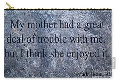Mark Twain Carry-all Pouch