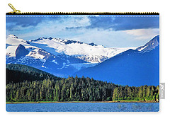 Mendenhall Glacier Park Carry-all Pouch by Martin Cline