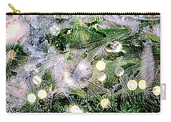 Merry Christmas Background Carry-all Pouch by Patricia Hofmeester