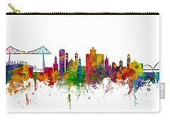 Middlesbrough England Skyline Carry-all Pouch