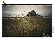 Mont St Michel Carry-all Pouch by Therese Alcorn