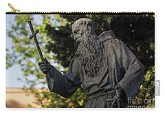 Carry-all Pouch featuring the photograph Monument To Fray Pablo De Cadiz Alameda Apodaca Cadiz Spain by Pablo Avanzini