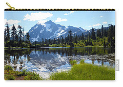 Mount Shuksan Reflection Carry-all Pouch