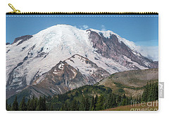 Mt Rainier From Sunrise Carry-all Pouch