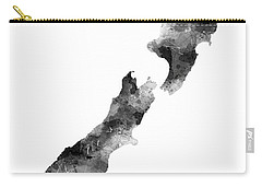 New Zealand Map Carry-all Pouch