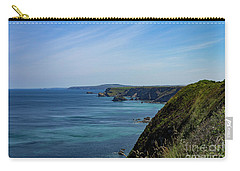 Carry-all Pouch featuring the photograph North Coast Cornwall by Brian Roscorla