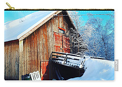 Norwegian Winter Landscape  Carry-all Pouch