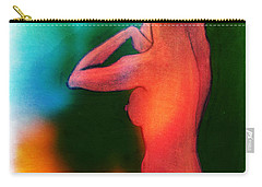 Nude Woman Carry-all Pouch by Svelby Art